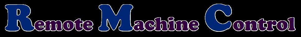 Remote Machine Control - logo
